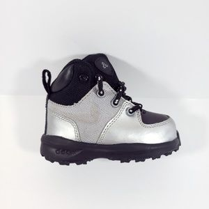 Toddler Nike ACG Boots silver black 4c S5